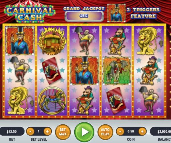 สล็อตออนไลน์ รีวิวเกมสล็อต Carnival Cash ทำเกมมาคลาสสิก